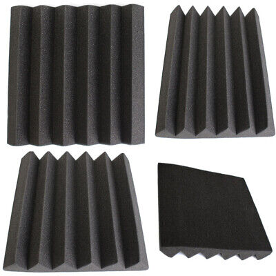 New Acoustic Panels Tiles Studio Sound Proofing Insulation Closed Silencer Foam