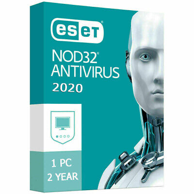 ESET NOD32 NOD 32 Antivirus 2020 1 PC , 2 Years, GLOBAL, ESD - Instant Delivery