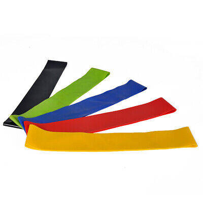 HO_ ALS_ AD_ Resistance Band Yoga Pilates Gym Fitness Exercise Workout Training