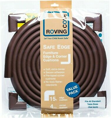 Roving Cove Baby and Child Proofing Edge and Corner Guards Cushion Safety Bumper