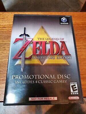 The Legend of Zelda: Collector's Edition (Gamecube) Wii Nintendo