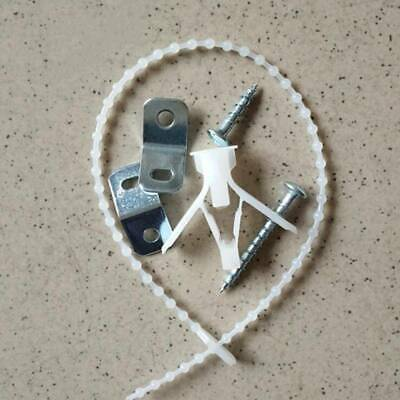 Furniture Straps Anti Tip Furniture Anchor for Baby Proofing Cabinet Wall SL3