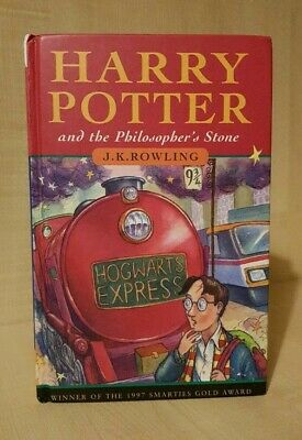1st/2nd Harry Potter And The Philosophers Stone Hardback Ted Smart