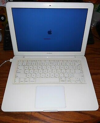 "Apple MacBook White 13""A1342 Laptop 250GB HDD 6GB RAM 2.40 GHz WebCam"