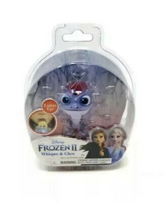 NEW Disney Frozen 2 II Whisper And & Glow Light Up Figure Bruni The Salamander