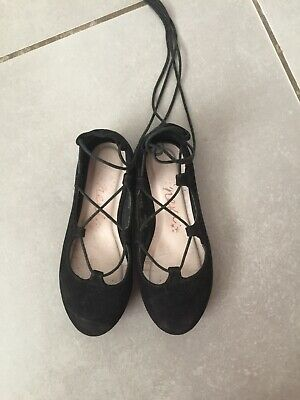 Girls Black Party Shoes Next Size 11