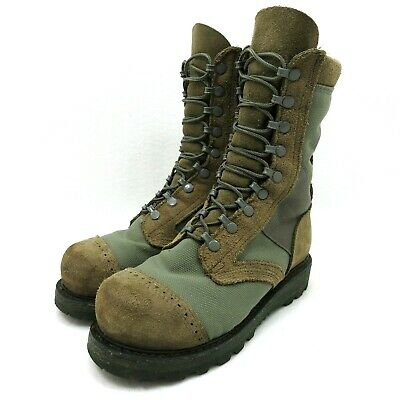 Corcoran Roughout Steel Toe Leather Marauder Combat Military Duty Boot Sz 5 EE