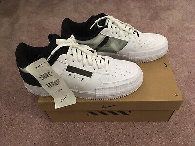 NIKE AIR FORCE 1 Type N.354 Exclusive Black And White Uk 6.5