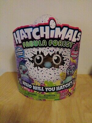 Hatchimals Fabula Forest:Who Will You Hatch? SpinMaster Factory Sealed