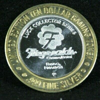 Fitzgerald's Reno Resort and Casino Limited Edition .999 silver Token