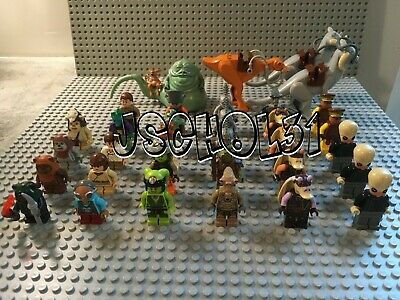 LEGO Star Wars Minifigures Lot-Jabba the Hutt, Cantina Band, Ewok, ROTJ-You Pick
