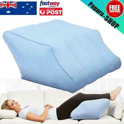 Inflatable Elevation Wedge Leg Foot Rest Raiser Support Pillow Cushion BEST Blue