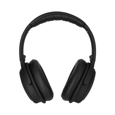 Xqisit OE400 Bluetooth On Ear Kopfhörer schwarz Active Noise Cancelling