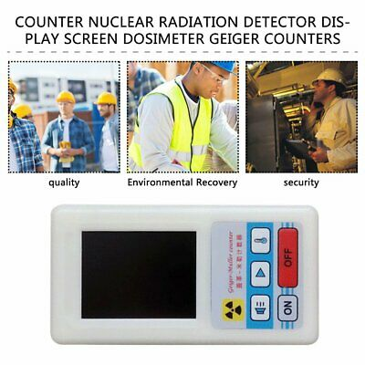 Counter Nuclear Radiation Detector Display Screen Dosimeter Geiger Counters JW