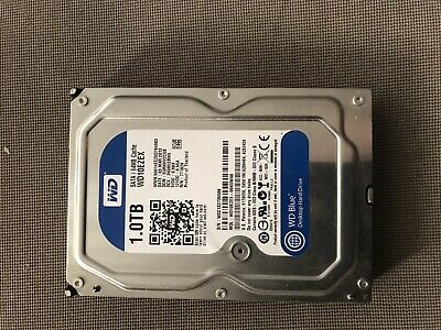 "Western Digital WD Caviar Blue 1 TB, Internal, 7200 RPM, 3.5"" (WD10EZEX) Hard..."