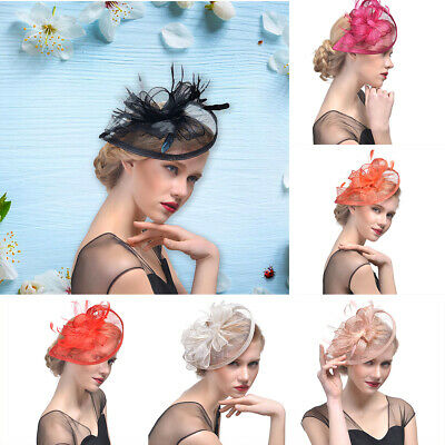 Headband Fascinator Hat Aliceband Wedding Ladies Day Race Royal Ascot