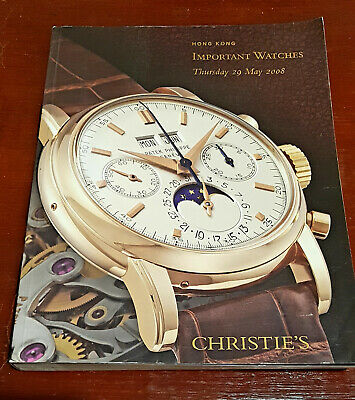 Patek Philippe Catalogue Christie's Important Watches Hong Kong  29 May 2008