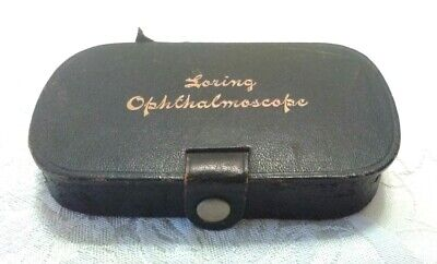 RARE  MEDICAL Ophthalmoscope IN BOX LORING'S