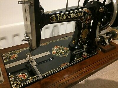 Frister and Rossmann Model K Handcrank Antique-Vintage Sewing machine,