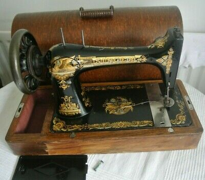 1899 Antique Singer 27K Vintage Sewing Machine for Home decor