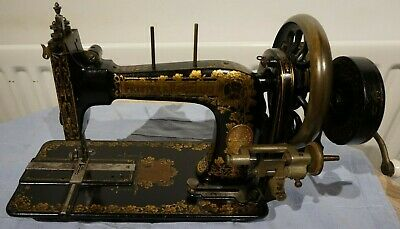 Frister & Rossmann Antique Handcrank Sewing Machine, antique Inspiration