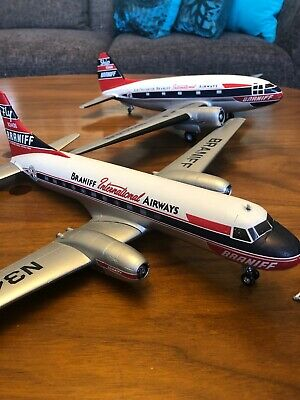 Vtg 1950s Braniff International Airways Curtiss  Convair El Dorado Freight - 2