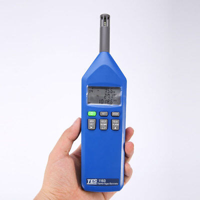 H● TES 1160 Thermo/Hygro/Barometer/Humidity Temperature Meter