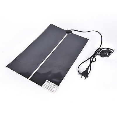 1x Heat Mat Reptile Brooder Incubator Heating Pad Warm Heater Pet Supply 5W~2 PT