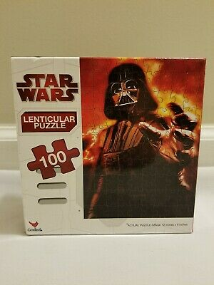 Star Wars Darth Vader Lenticular Puzzle 100 Pieces New Sealed