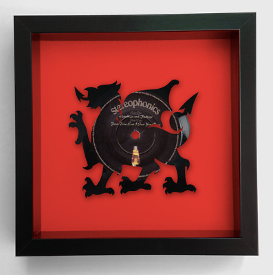 Stereophonics - Handbags and Gladrags - Welsh Dragon Vinyl Record Art