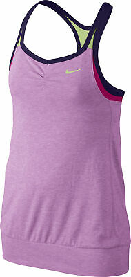 Nike Dri-Fit Cool 2 In 1 Junior Vest Tank Top - Pink