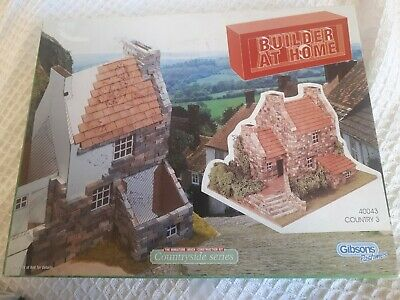 Builder At Home Miniature Brick Construction Set 40043 Gibsons Pastimes