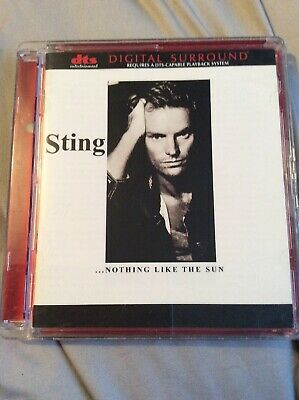 Sting .....Nothing Like The Sun Dvd Audio