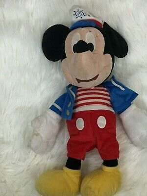 """Mickey Mouse Sailer Kid's Boys Girls Doll Toy 19""""in"""