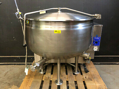 Cleveland KGL-40SH Short Series Steam Jacketed Kettle in Natural Gas