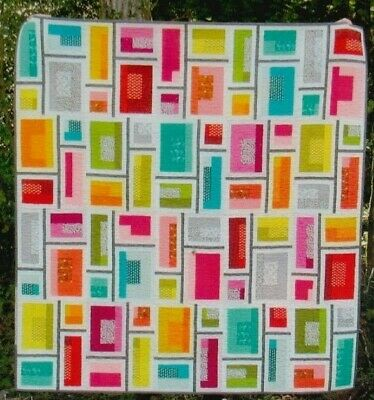 Rapid City - fun modern pieced quilt PATTERN - Elizabeth Hartman