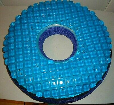 Donut shaped Pressure Relieving Reducing Coccyx Tailbone Seat Gel Cushion