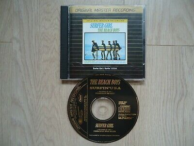 The Beach Boys Sufer Girl - Surfin' USA MFSL 24 kt gold plated CD