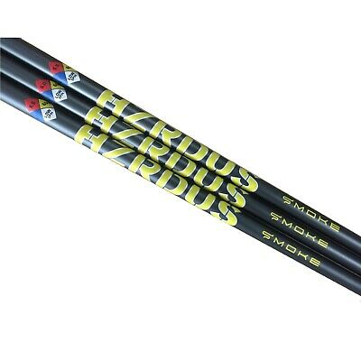 New Project X HZRDUS Smoke Yellow Driver Shaft With Adapter + Grip