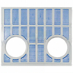 Metal Grille w/ Inset Lights Ford  2000 2150 2300 2310 3000 4000 5000 7000 7200