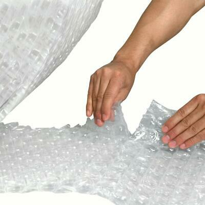 """UPSable Perforated Air Bubble Rolls, 3/16"""" x 12"""" x 300', Clear, 4/Each"""