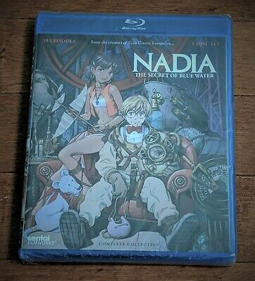 Nadia The Secret of Blue Water Complete Collection Blu-ray BD Disc Sentai NEW