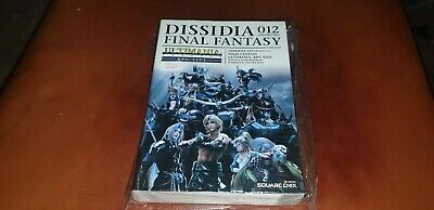 FINAL FANTASY DISSIDIA 012 RPG SIDE ULTIMANIA GUIDE Japanese Game Guide
