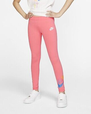 Nike Girls' Sportswear Favorites Femme Leggings!! Nwt!! Sz. L