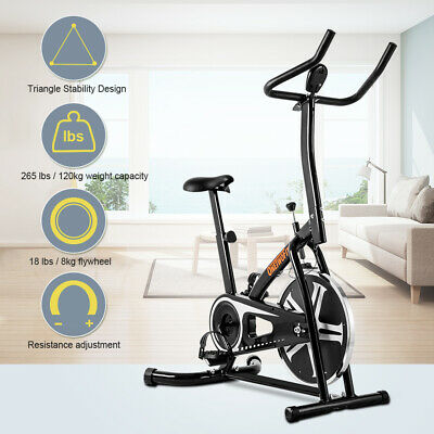 Stationary Indoor Exercise Bike Cycling Fitness Cardio Training Workout OT077