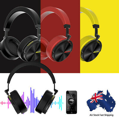 Bluedio T5 Bluetooth 4.2 Headphones Wireless Stereo Noise Cancelling Headset Mic