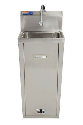 Stainless Steel Foot Operated Wash Hand Basin (Not Portable)