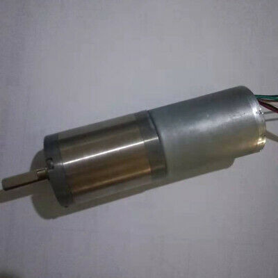 BLDC Gear Motor 1//14 reduction 378RPM DC 24V 2.5W with controller