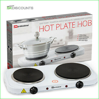 Electric Portable Hot Plate Cooking Hob Stove Cooker Boiling Ring 1000-2500Watt