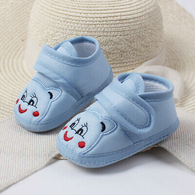 Infant Toddler Baby Girl Boy Soft Sole Cartoon Anti-slip Shoes Toddler Shoes New